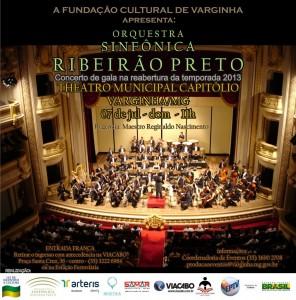 Apresentação Orquestra Ribeirão Preto em Varginha