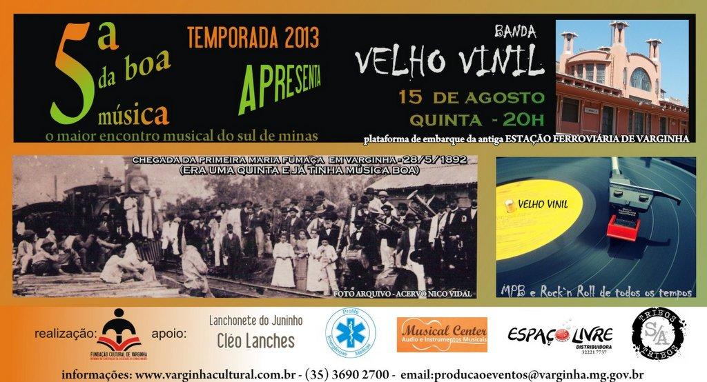 Quinta da Boa Música com a Banda Vinil Velho