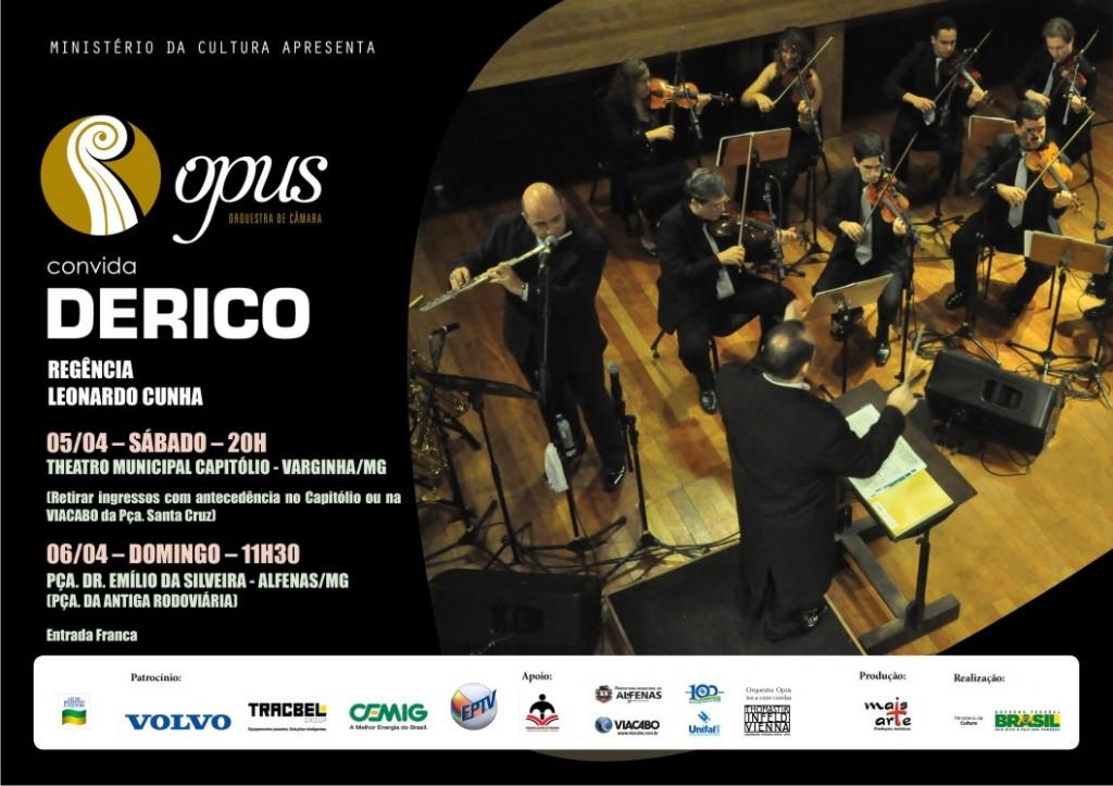 Orquestra Opus com participação Derico 03 04 2014