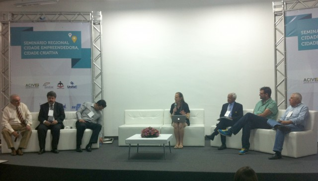 Seminário Regional discute Cidade Empreendedora e Cidade Criativa