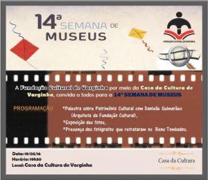 Convite semana museu