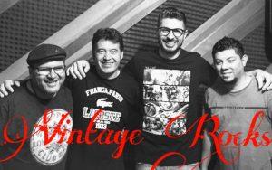 Vintage Rocks se apresenta esta semana na live do 5ª da Boa Música