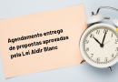 Ampliação do horário de agendamento para entrega de propostas do edital da Lei Aldir Blanc