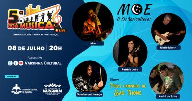 Banda Moe & Os Agricultores se apresenta na live do 5ª da Boa Música