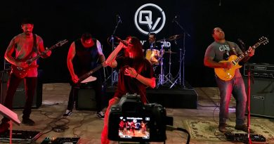 Banda Quantic Void é a atração dessa semana na live do 5ª da Boa Música