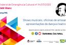 Fundação Cultural começa a exibir apresentações de artistas contemplados pela Lei Aldir Blanc